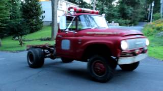 1965 international 1300 cab & chassis dually burnout!!!