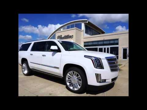 2016 Cadillac Esv Crystal White Tricoat Youtube