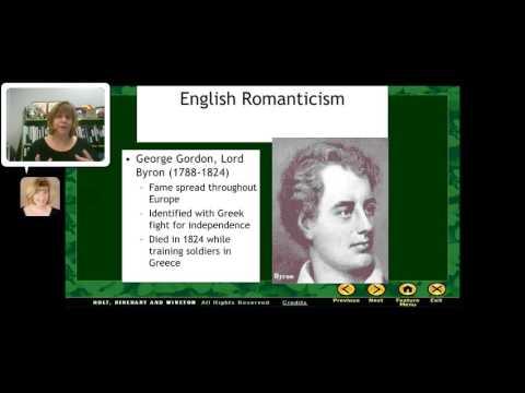 Intro to the  Big Six   British Romantic Poets