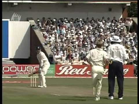 Michael Vaughan 166 vs Australia 2005 Old Trafford