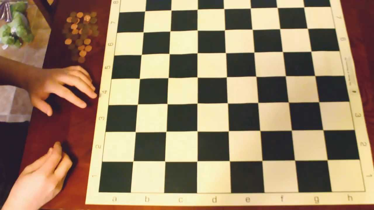 Pebbling a chessboard - Cool Math Puzzle