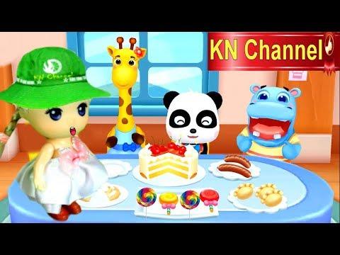 Trò chơi KN Channel BÉ TẬP LÀM LƠ XE TÀI XẾ ĐỔ XĂNG VỚI BÚP BÊ tập 2