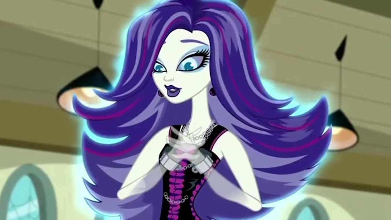 Best Of Spectra Vondergeist Meet The Ghouls Monster High Cartoons For Kids Youtube