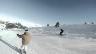 GoPro : Snow in Slow mo [ 4K ]