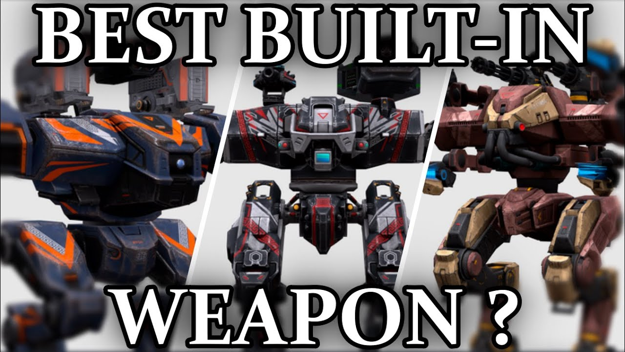 Download Best Built-in Weapon ?   Comparison Ares , Hades & Nemesis   War Robots