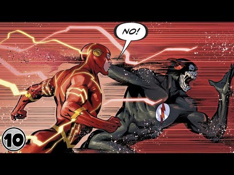 Top 10 Alternate Versions Of Flash Faster Than Barry Allen