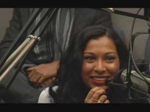 Interview with Melanie Fiona on The Morning Cruise Control with SrA Kellen Carr (31Dec2013)