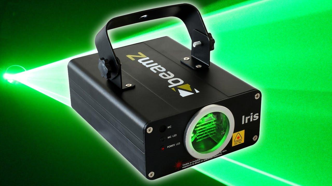 Beamz Iris Bright Green DMX Laser Light Mobile DJ Disco Party Event Lighting - YouTube & Beamz Iris Bright Green DMX Laser Light Mobile DJ Disco Party ... azcodes.com