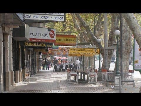 Mendoza ,  Argentina. Cruce de la Cordillera de Los Andes en HD. Visiting Mendoza