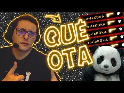 """ZORLAK ACE em modo QUÉ OTA -  """"Never Say No To Panda"""""""