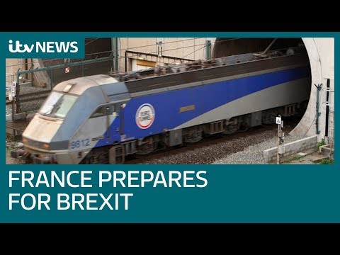 France makes preparations for a no-deal Brexit   ITV News