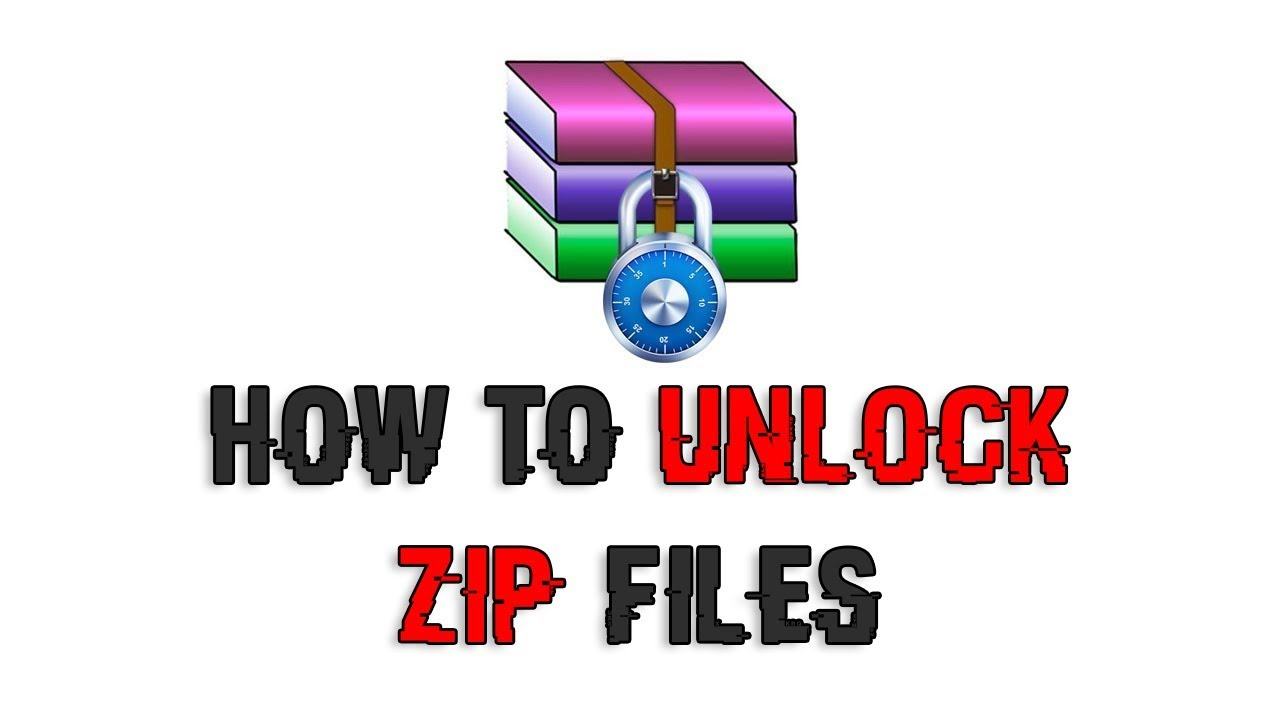 how to unlock zip file without password using cmd