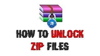 How to Unlock Zip & RAR Files without PASSWORD [2018]