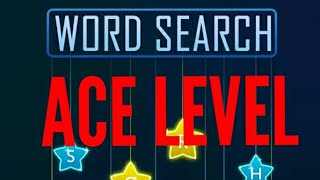 Ace Level-WordSearch Games Tree