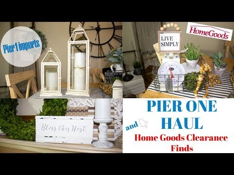 PIER ONE HAUL/HOME GOODS CLEARANCE
