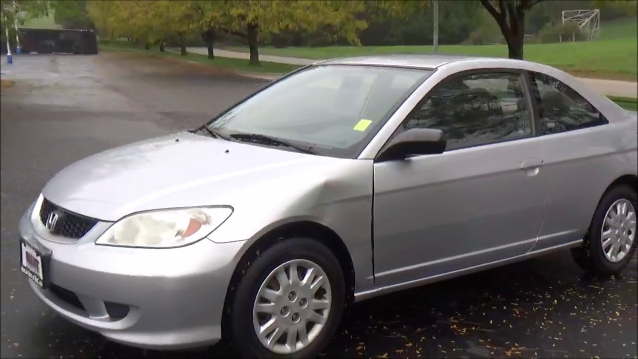Used 2005 Honda Civic Coupe Lx For At Cars Of Bellevue An Omaha Dealer