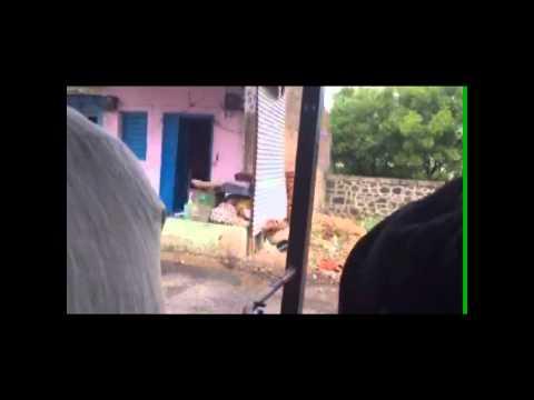 Rickshaw Ride Through Red Light District of Sangli India