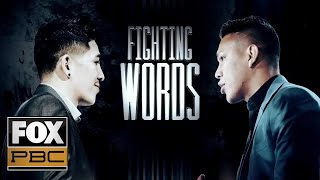 Leo Santa Cruz and Miguel Flores Fighting Words | INSIDE PBC BOXING