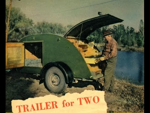 September 1947 Mechanix Illustrated Trailer for Two on PDF v51