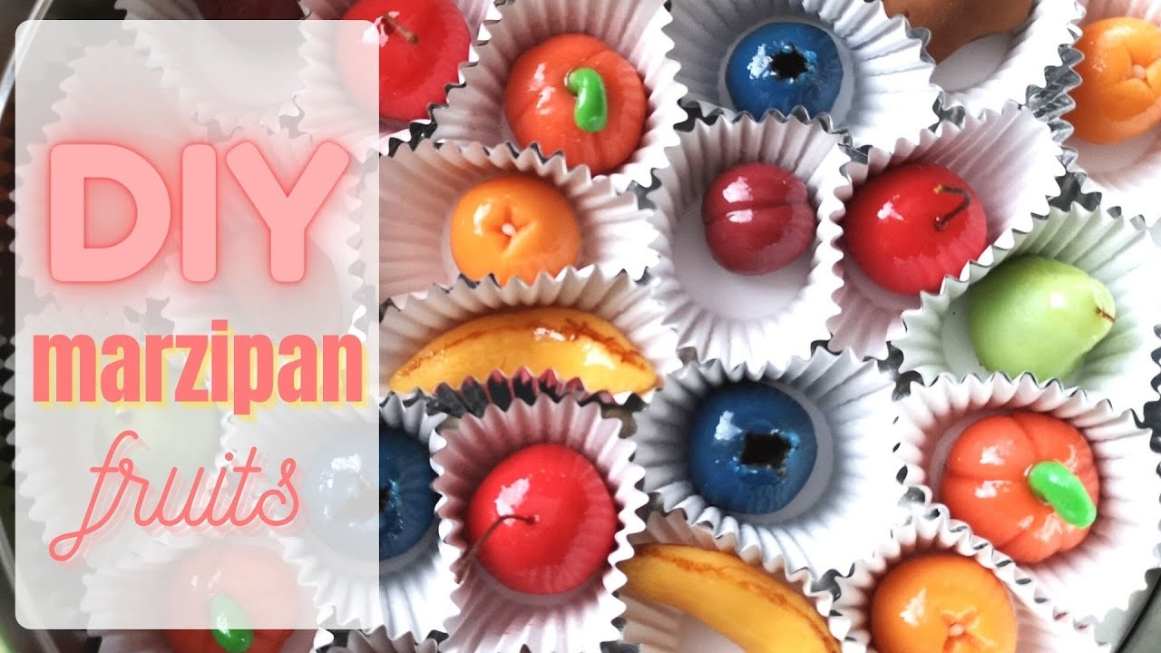 How to make Marzipan Sweets - Sharing our Family Tradition