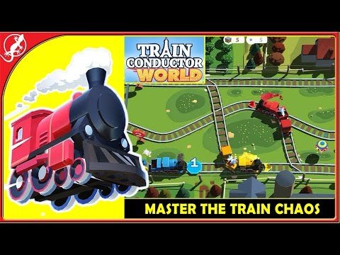 Train Conductor World: European Railway - Master the Train Chaos ! (iOS Gameplay)