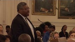 Alton Maddox testifies before the New York Commission on Statewide Attorney Discipline