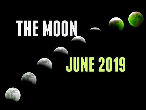 JUNE 2019 — Harnessing Moon Phases For Manifestation &  Ease  —