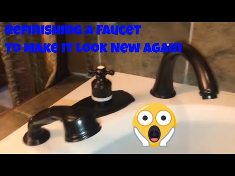refinishing/-painting-a-faucet--making-a-faucet-look-new-again