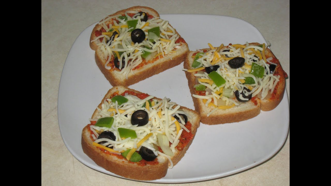 Bread Pizza Recipe Youtube