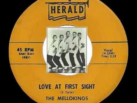 Love At First Sight ~ The Mello Kings (1957)
