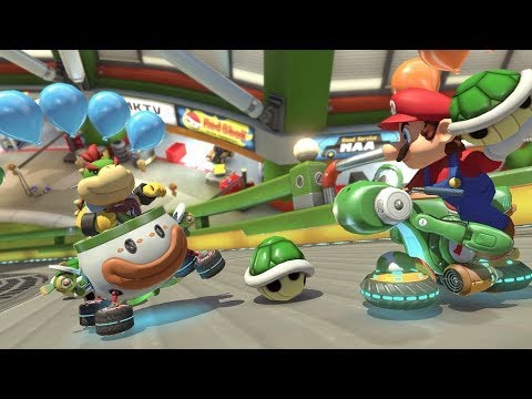 Free For All Friday - Mario Kart 8 Deluxe - Playing with Subs - Brought to you by Drew Benson!