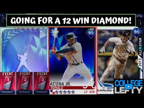 Going For a 12 Win Diamond in the Event! MLB The Show 19 Diamond Dynasty!