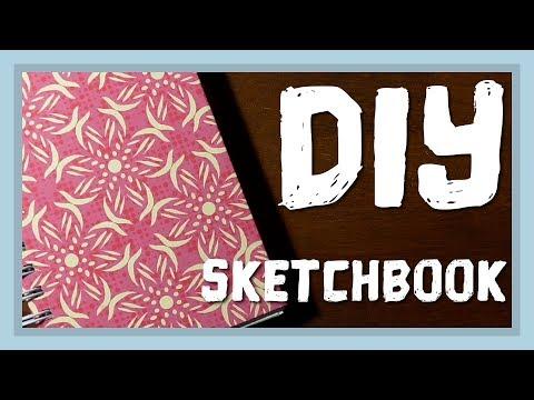 Custom Sketchbook DIY using the Cinch binding machine