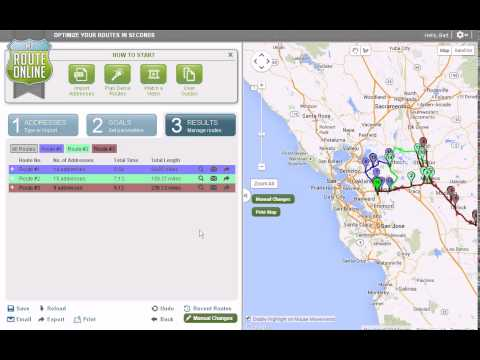 How to start using MyRouteOnline route planner
