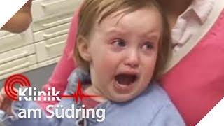 Nina (2) weint: Hirntumor bei Baby? | Klinik am Südring | SAT.1 TV