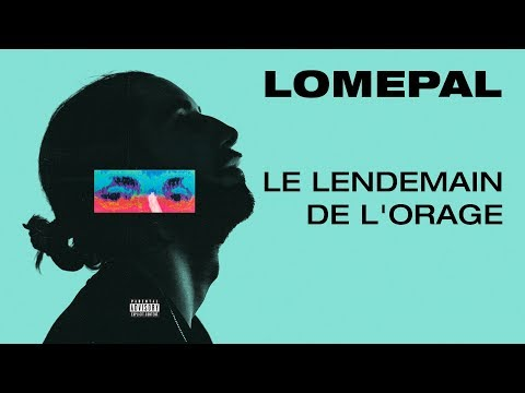 Lomepal - Le lendemain de l'orage (lyrics video)