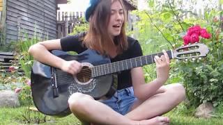 ТЫ ДЕСАНТ   девушка поет классную песню под гитару