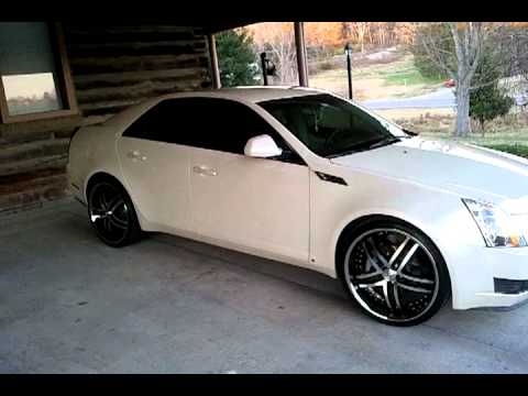 09 Cadillac Cts 22 Niche Essence Wheels Youtube