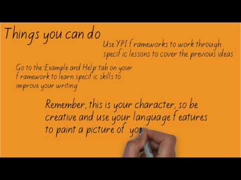 self portrait writing examples