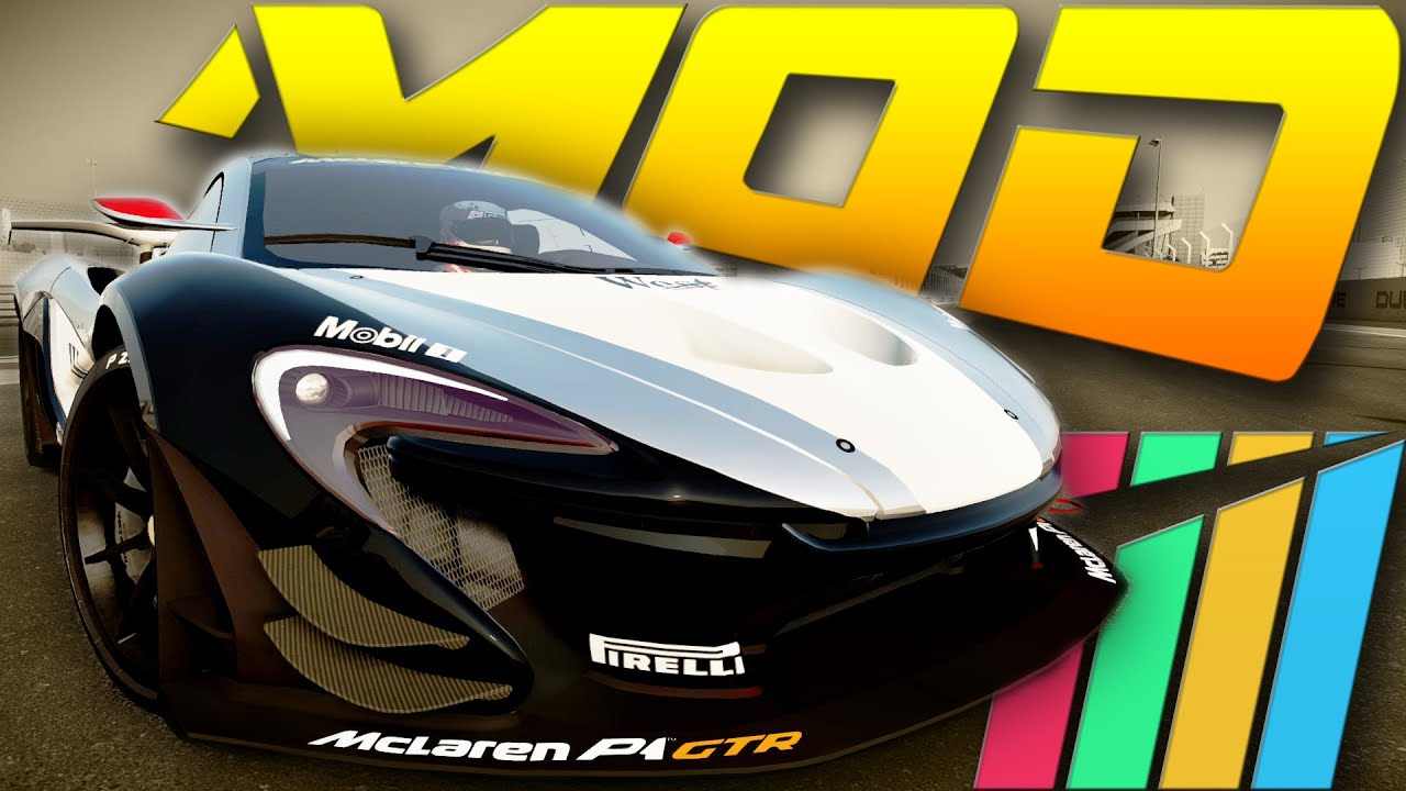 Mod mclaren p1 gtr project cars youtube - Project cars mclaren p1 ...