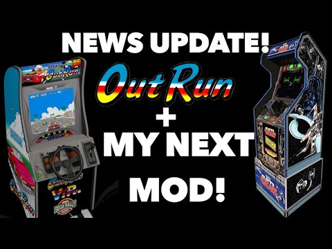 Was an Outrun Arcade1Up leaked? My Next Mod and Your Questions! LIVE! from Killer Arcade Games
