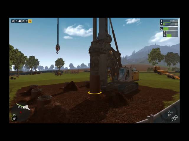 Let's Play Bau-Simulator 2015   Die Brücke - Bohren Teil 1   Folge #030