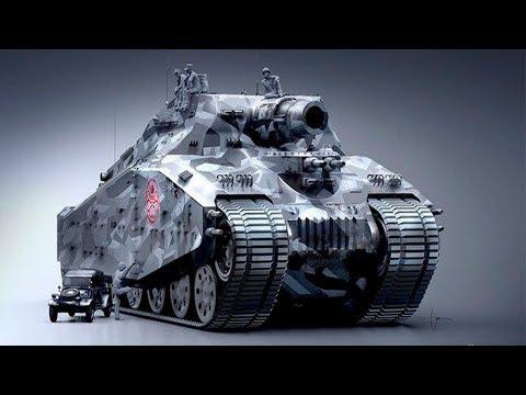 Weirdest Military Machines