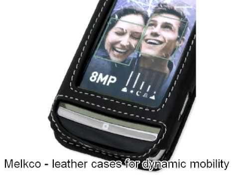 Melkco Leather Case for LG GC900 Viewty Smart - Flip