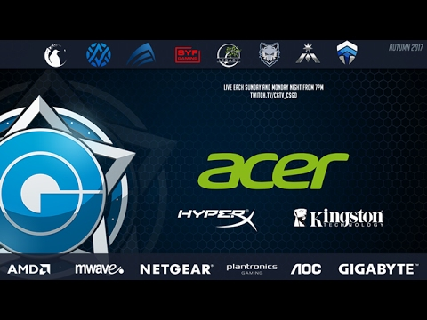 Acer CGPL Autumn 2017 - Rd1.Alpha Sydney VS Team Cypher Game One