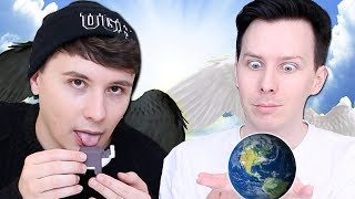 What if Dan and Phil were GODS?