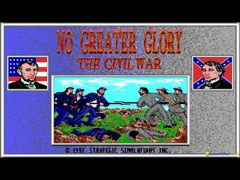 No Greater Glory gameplay (PC Game, 1991)