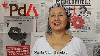 [Türkçe] Nesrin Ulu   PdA Zürich   Nationalratswahlen 2019