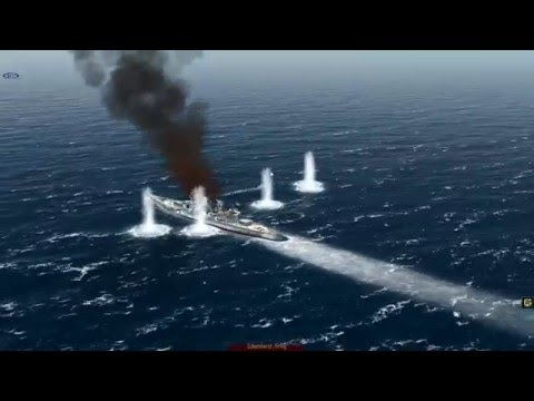 Let's Play Atlantic Fleet Campaign. Part 16.