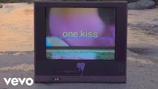 Video Calvin Harris, Dua Lipa - One Kiss (Lyric Video) download MP3, 3GP, MP4, WEBM, AVI, FLV Juli 2018